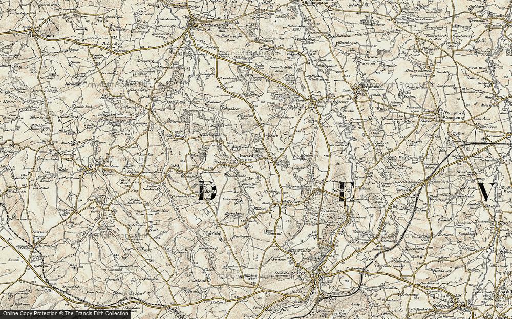 Inwardleigh, 1899-1900