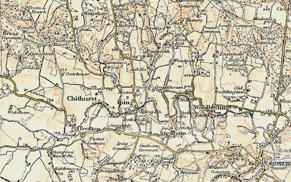 Old map of Iping in 1897-1900
