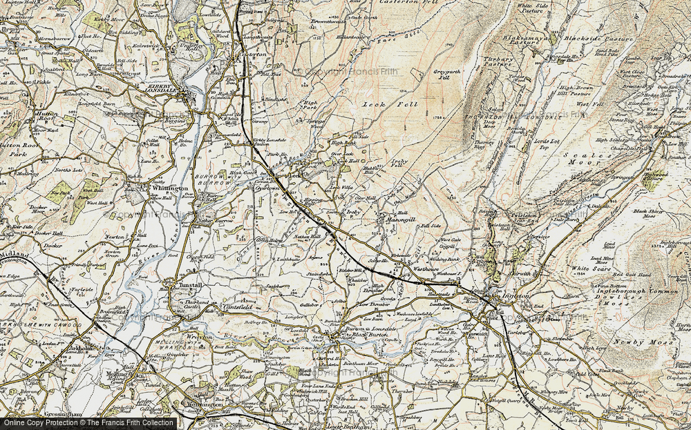 Old Map of Ireby, 1903-1904 in 1903-1904