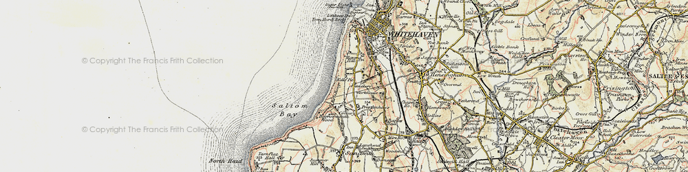 Old map of Kells in 1901-1904