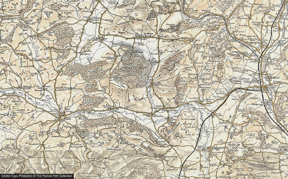 Old Map of Kempton, 1901-1903 in 1901-1903