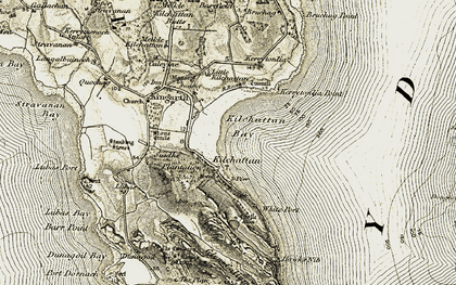 Old map of White Port in 1906