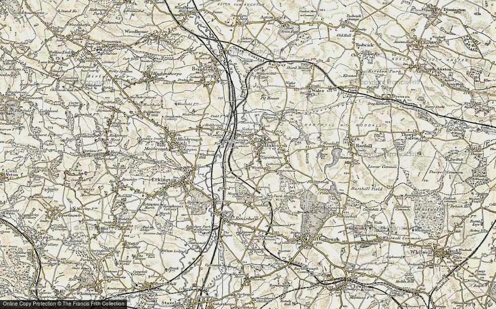 Old Map of Killamarsh, 1902-1903 in 1902-1903