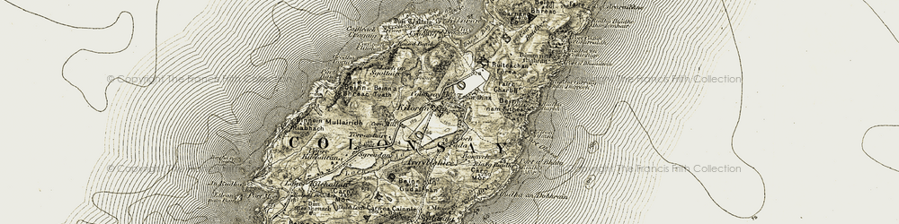 Old map of Tobar Oran in 1906-1907