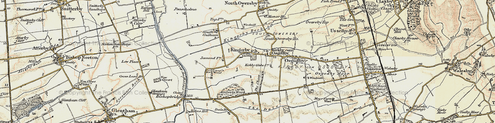 Old map of Young's Wood in 1903