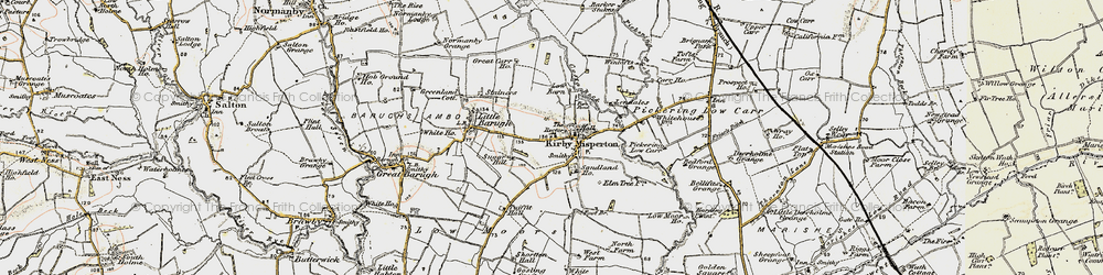Old map of White Lily in 1903-1904