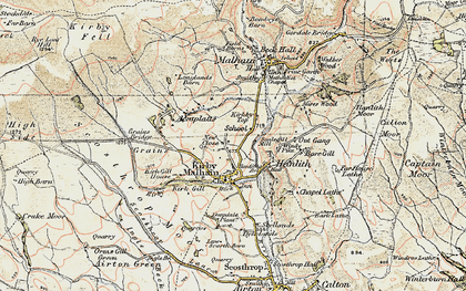Old map of Accraplatts in 1903-1904