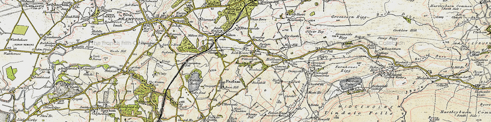 Old map of Williamgill in 1901-1904