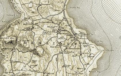 Old map of West Muntloch in 1905