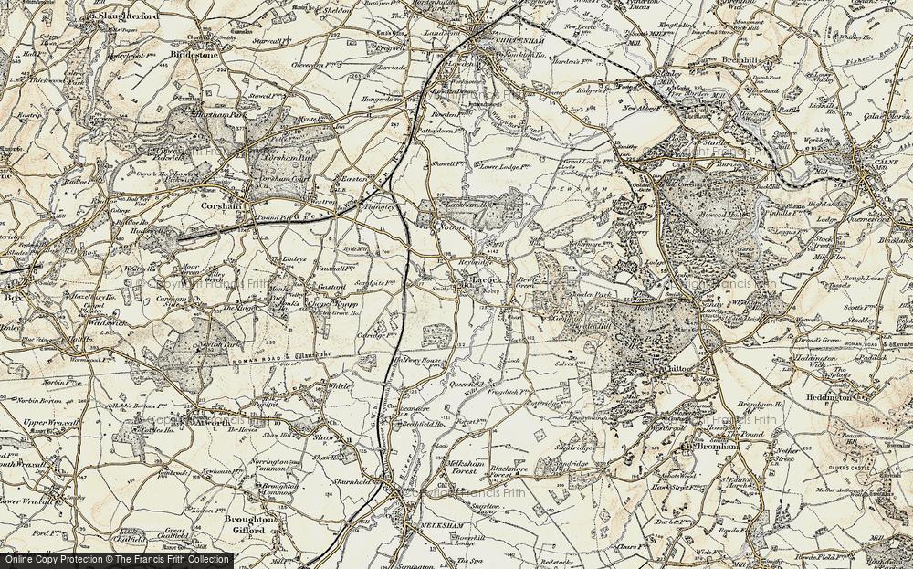 Lacock, 1899
