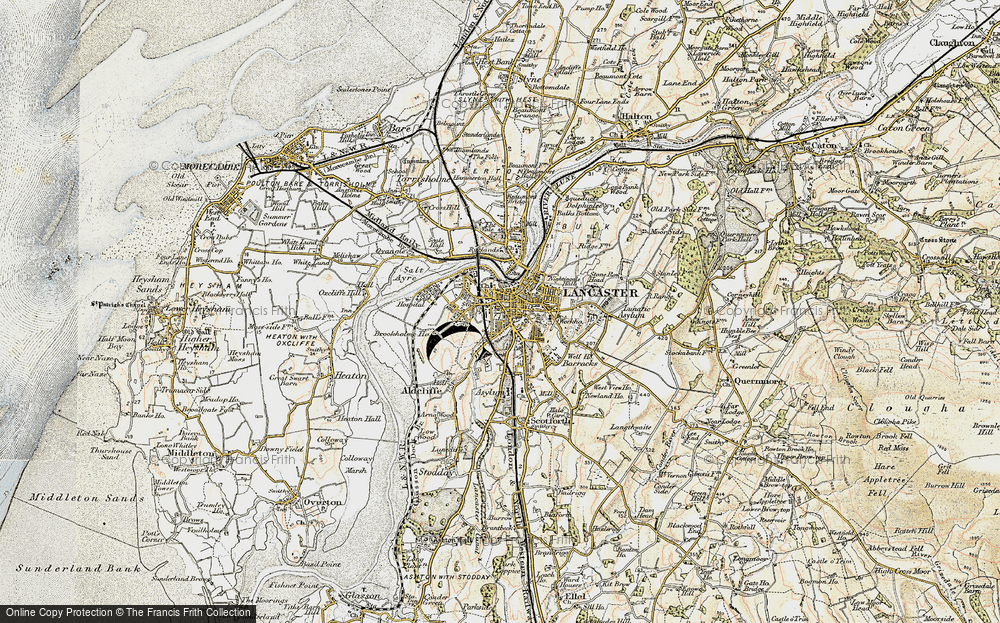 Old Maps of Lancaster Francis Frith