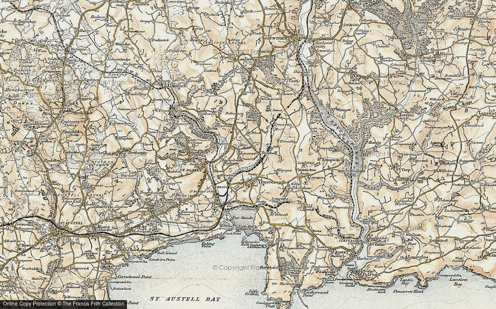 Lanescot, 1900
