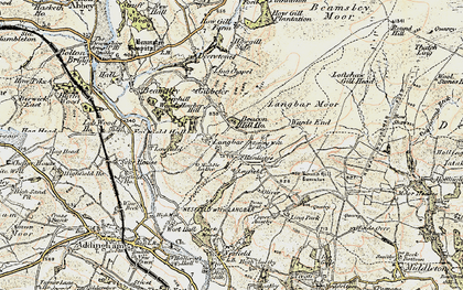 Old map of Ling Park in 1903-1904