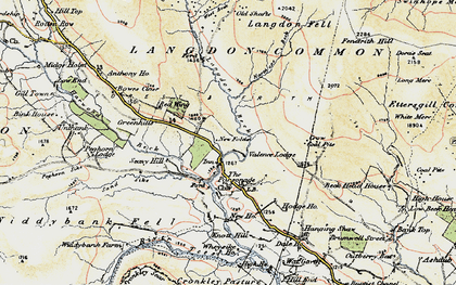 Old map of Langdon Head in 1904