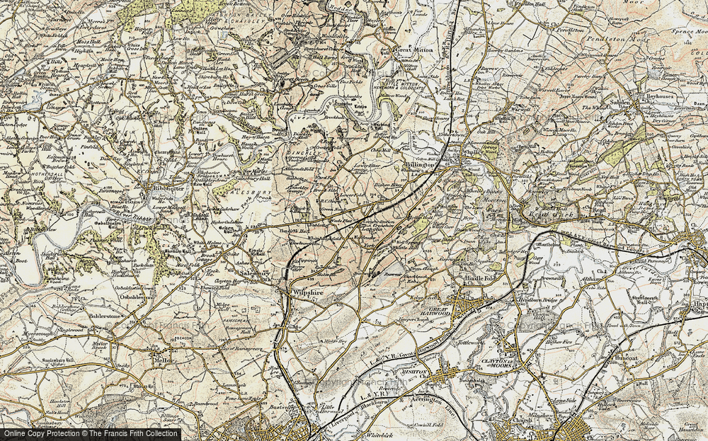 Langho, 1903-1904