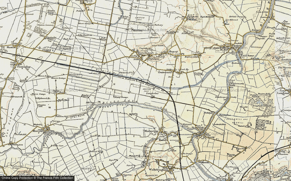 Old Map of Langholme, 1903 in 1903