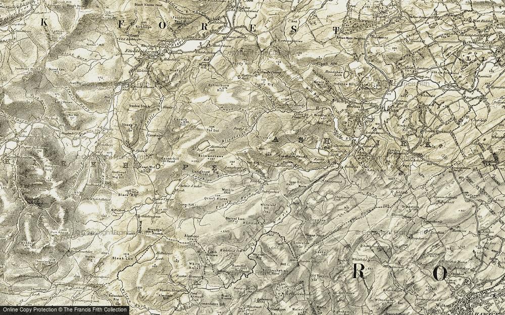 Langhope, 1901-1904