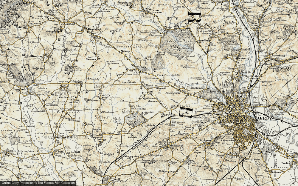 Langley Common, 1902