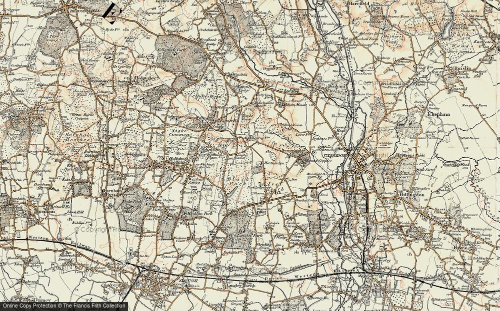 Langley Corner, 1897-1909