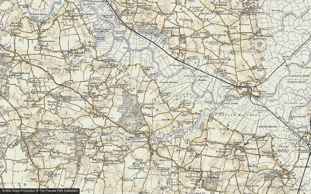 Langley Street, 1901-1902