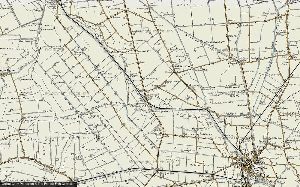 Langrick, 1902-1903