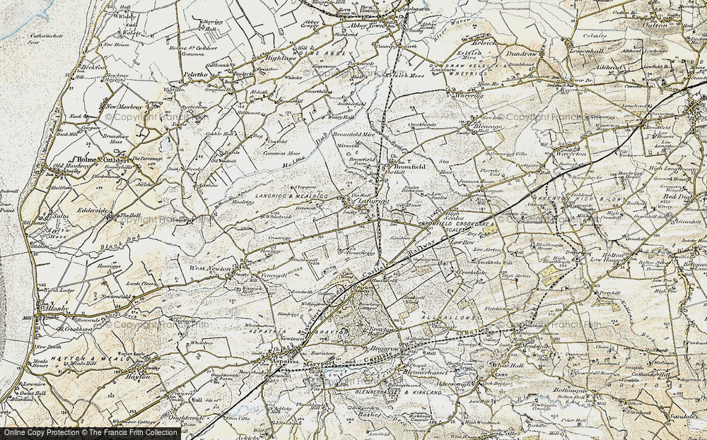 Old Map of Langrigg, 1901-1904 in 1901-1904