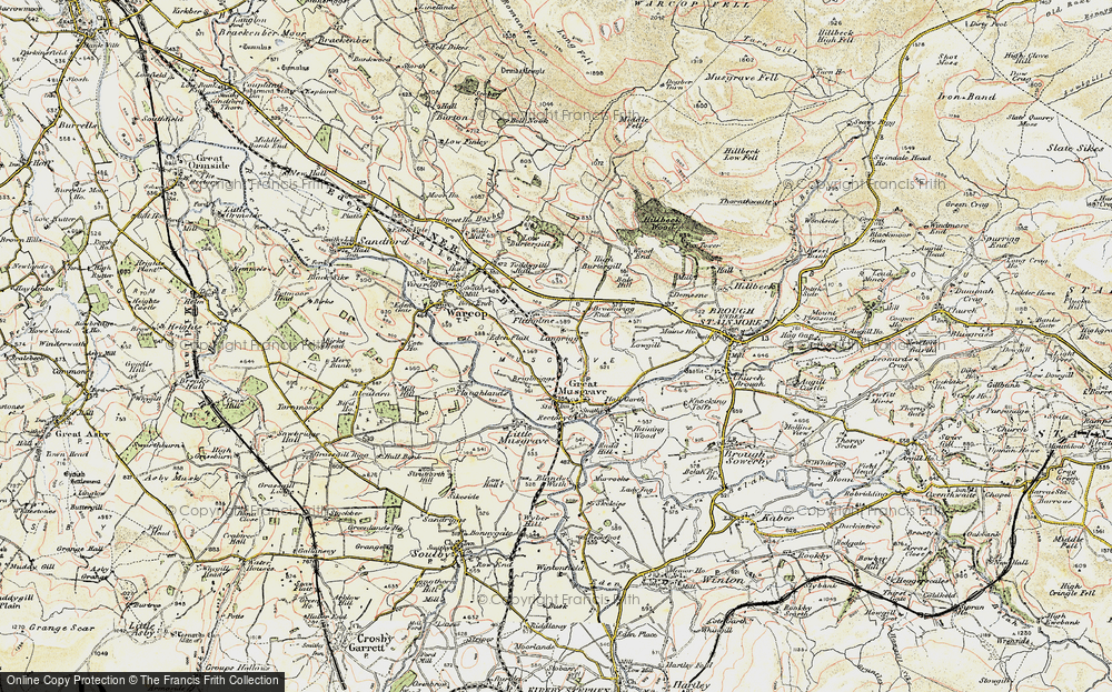 Old Map of Langrigg, 1903-1904 in 1903-1904