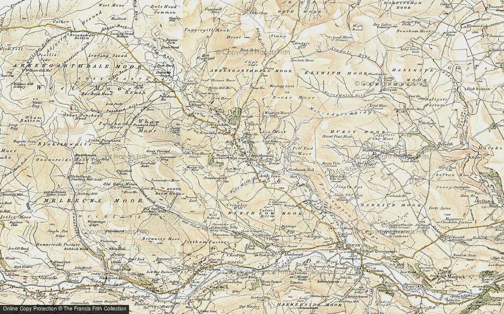 Langthwaite, 1903-1904