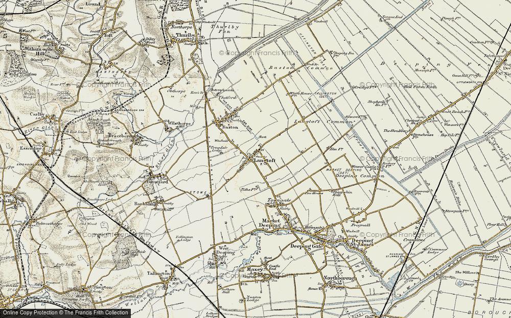 Langtoft, 1901-1902