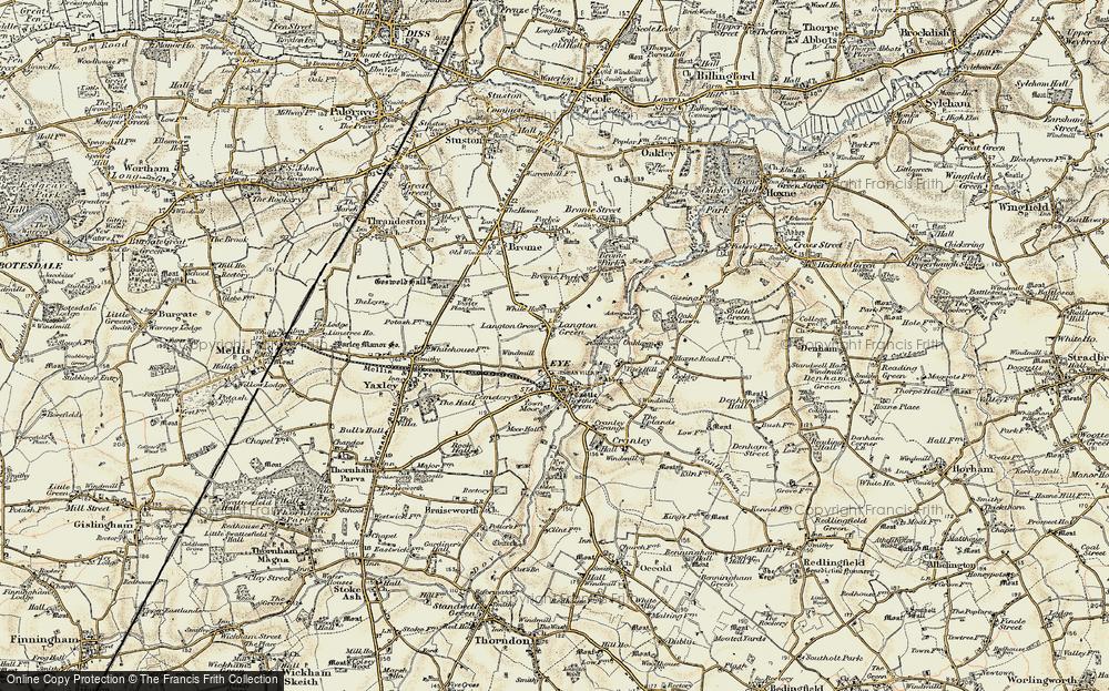 Langton Green, 1901-1902