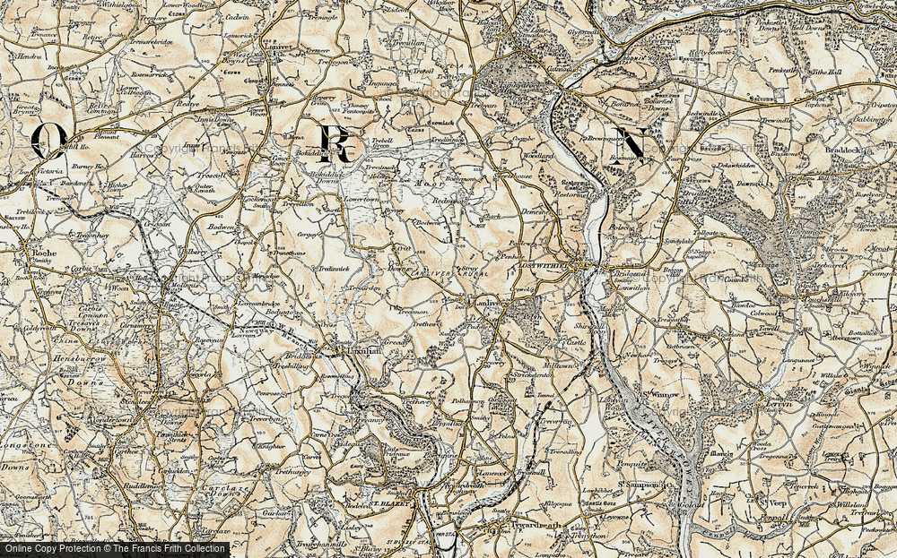 Lanlivery, 1900