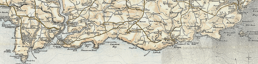 Old map of Windsor in 1900