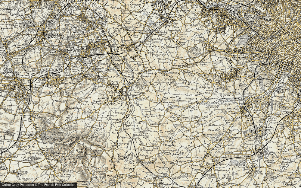 Old Map of Lapal, 1901-1902 in 1901-1902