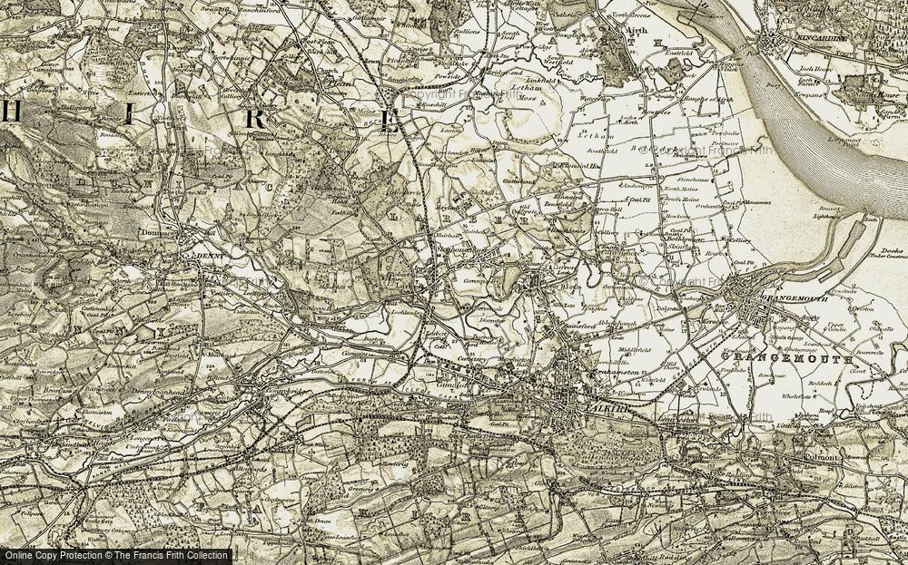 Larbert, 1904-1907