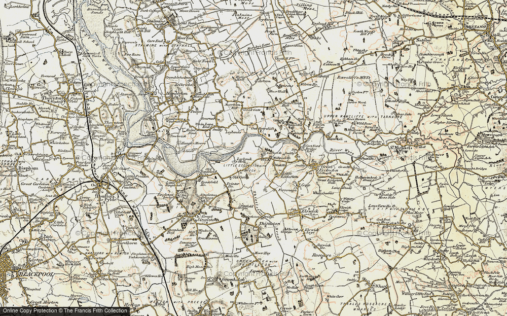 Old Map of Larbreck, 1903-1904 in 1903-1904