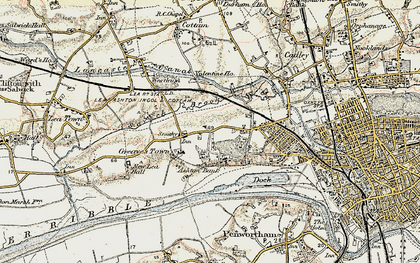 Old map of Ashton Park in 1903