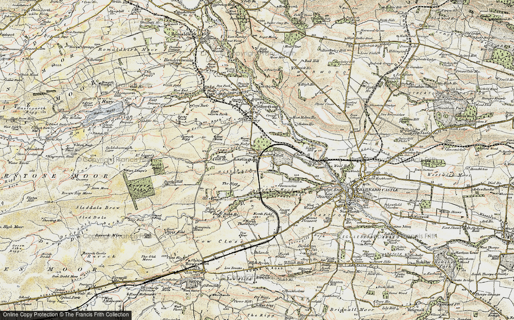 Old Map of Lartington, 1903-1904 in 1903-1904