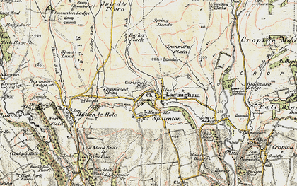 Old map of Bainwood Head in 1903-1904