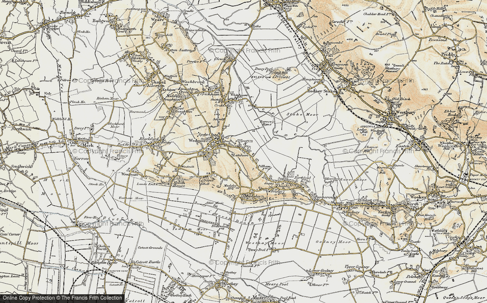 Old Map of Latcham, 1899-1900 in 1899-1900
