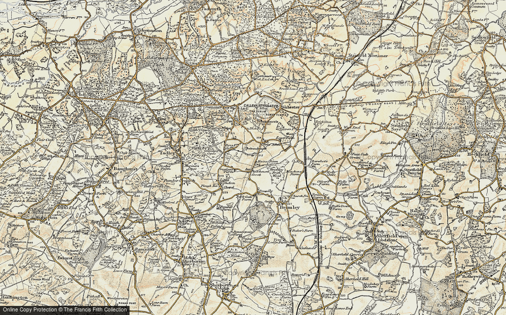 Old Map of Latchmere Green, 1897-1900 in 1897-1900