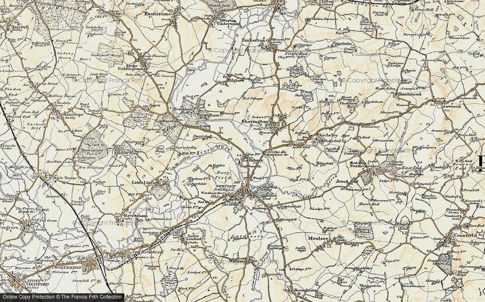 Lathbury, 1898-1901