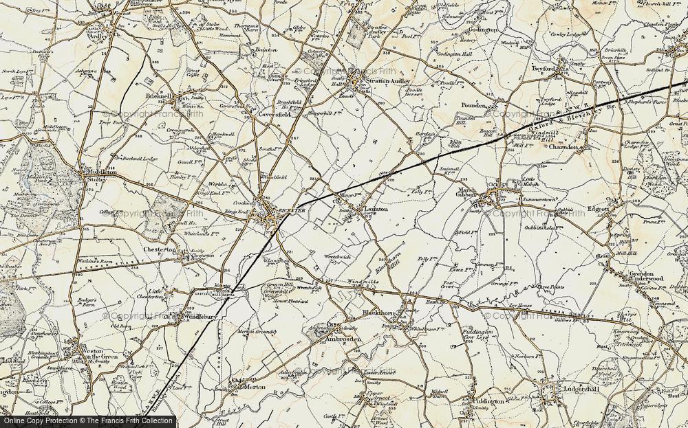 Launton, 1898-1899