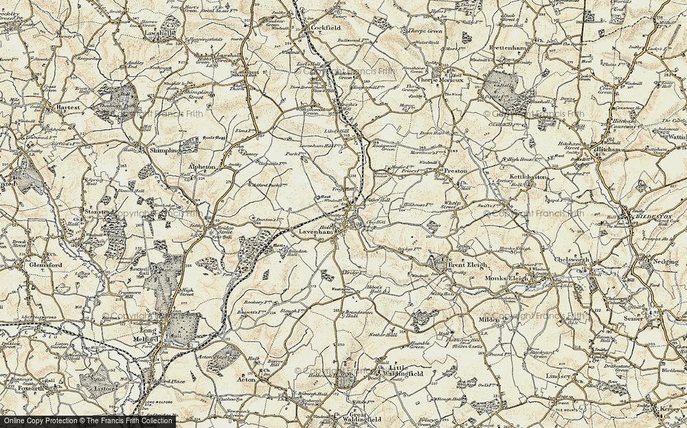 Lavenham, 1899-1901