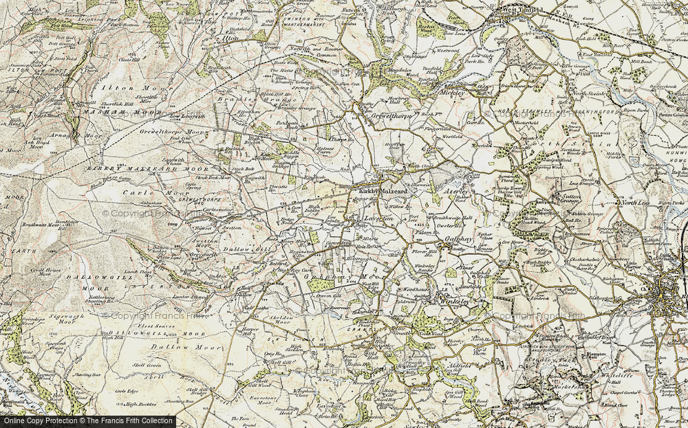 Old Map of Laverton, 1903-1904 in 1903-1904