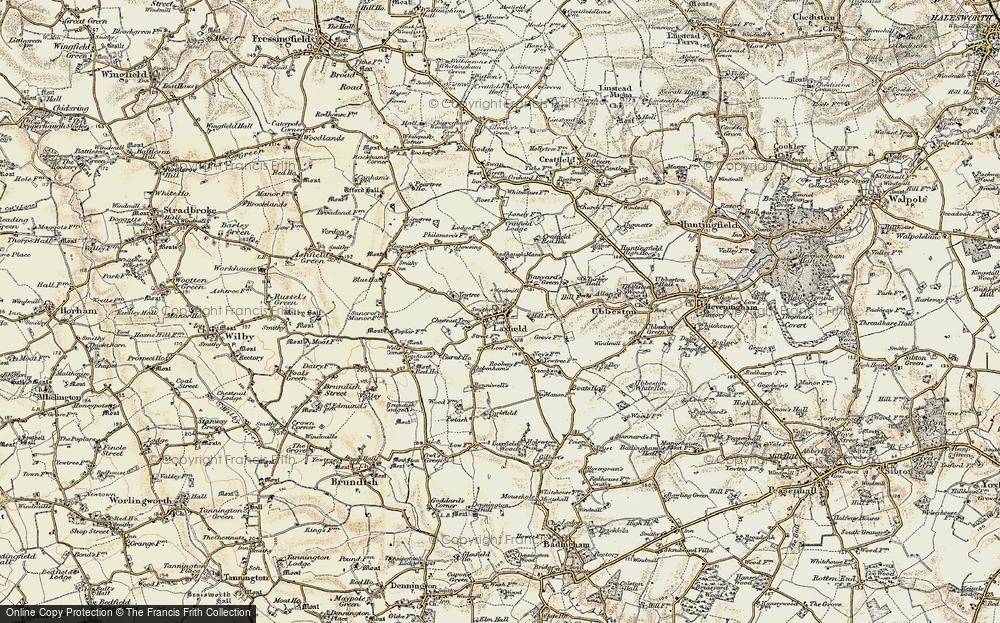 Laxfield, 1901
