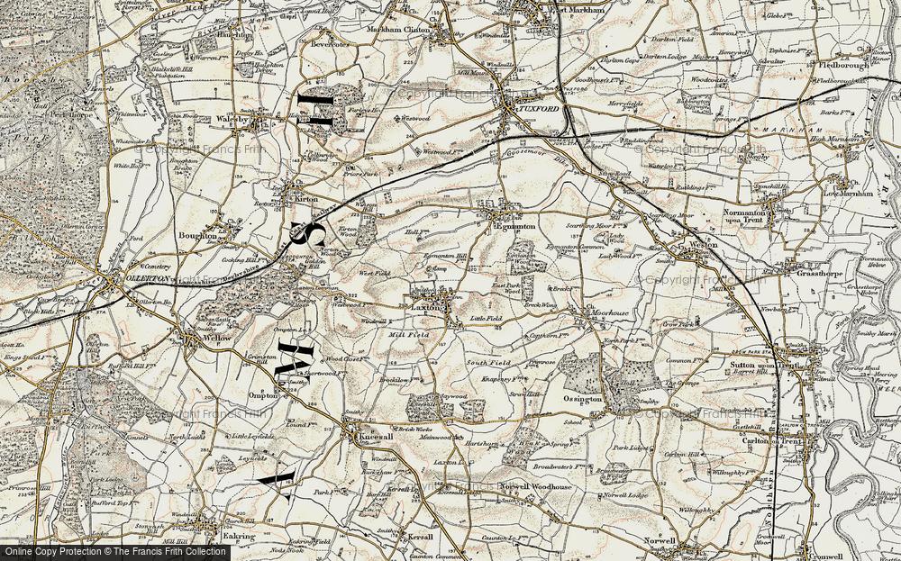 Laxton, 1902-1903