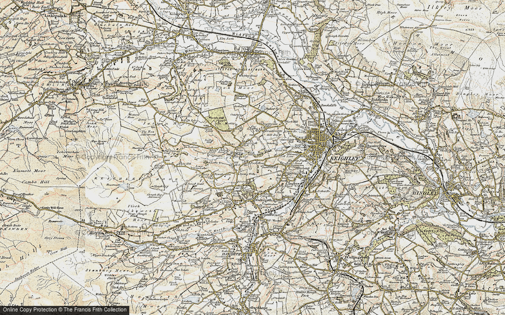Old Map of Laycock, 1903-1904 in 1903-1904