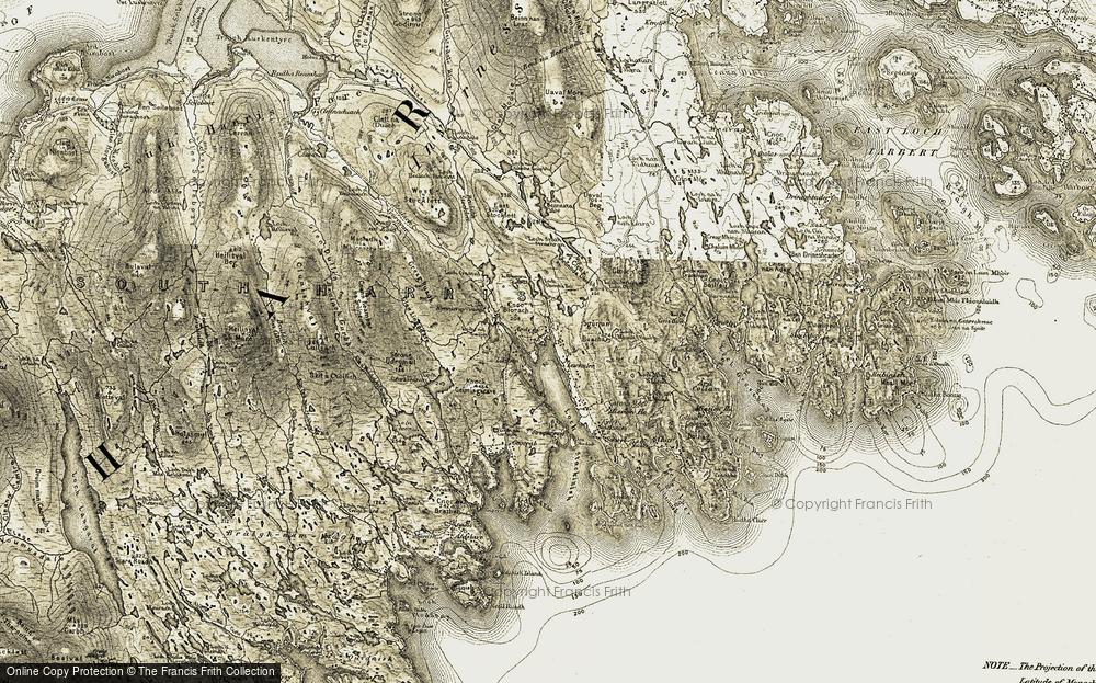 Leac a Lì, 1908-1911