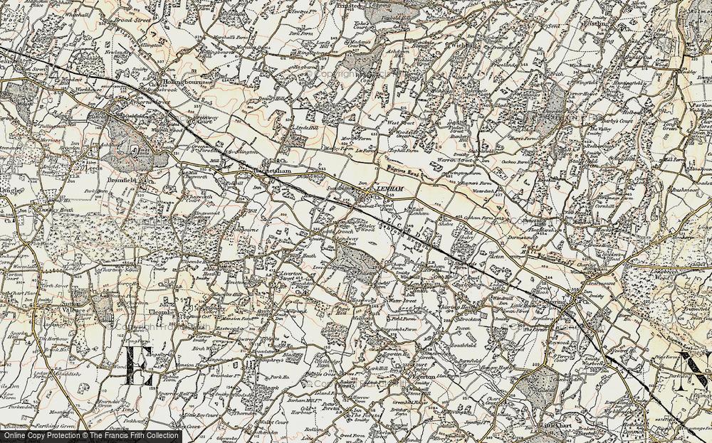 Leadingcross Green, 1897-1898