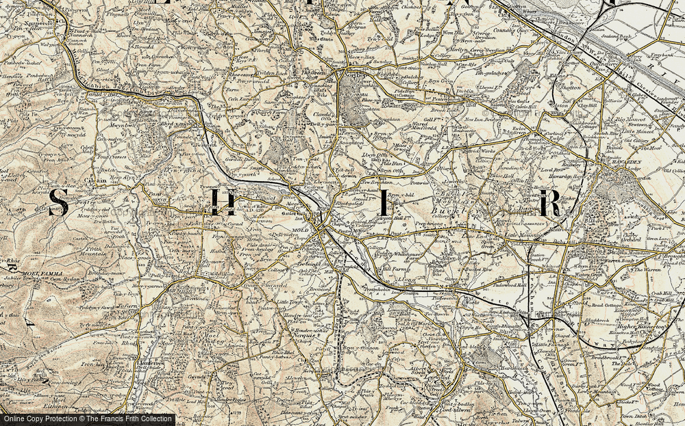 Old Map of Leadmill, 1902-1903 in 1902-1903